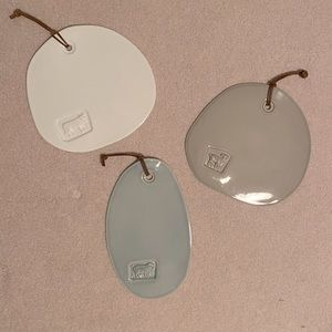 Country Farmhouse Style Ceramic Plates